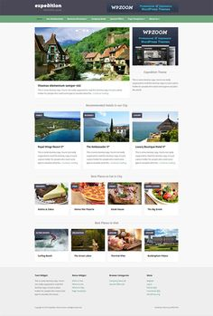 Expedition Responsive WordPress Directory Theme for Travel, City Guides
