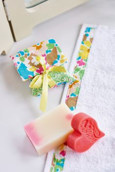 Give your toiletries some TLC with this fab stash busting project in our latest issue. This would make the perfect valentines gift too!