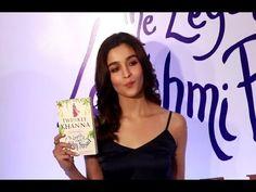 Alia Bhatt at Twinkle Khanna's book launch   The Legend Of Lakshmi Prasad.