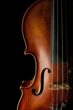 Low key photo of violin. Cello Photography, Nature Photography, Viola Instrument, Jesus And Mary Pictures, Violin Art, Instruments, Watercolor Projects, Free To Use Images, Classical Music