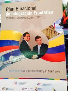 Presentamos Plan para Frontera Colombo-Ecuatoriana. Presidentes piden que sea la guía de los próximos gabinetes