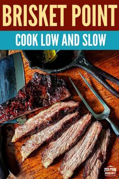 Felton Angus Beef Brisket Point is perfect for low and slow on grill or in the oven. Make it into burnt ends and serve with a rich BBQ sauce. #grill #dinner #healthy #meals Oven Baked Brisket, Beef Brisket Slow Cooker, Grilled Brisket, Slow Cooked Beef, Dinner Healthy, Healthy Meals, Roast Beef Tacos, Leftover Beef Recipes