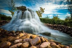 Silk fountain - Fuente de seda Waterfall, Wallpaper, Outdoor, Beautiful, Fuentes De Agua, Silk, Naturaleza, Outdoors, Wallpapers