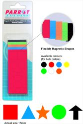 Parrot Products is a premier distributor of Flexible Magnetic Shapes 50 Pack, Assorted) from Parrot Products (Pty) Ltd in Southern Africa.