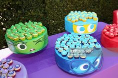 A view of the atmosphere at the Los Angeles Premiere and Party for Disney•Pixar's INSIDE OUT at El Capitan Theatre on June 8, 2015 in Hollywood, California.