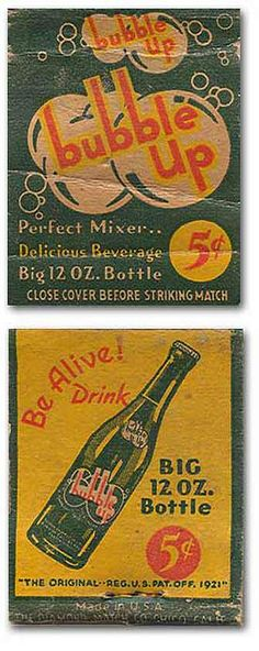 Bubble Up Pop #MatchbookCover To order your Business' own branded #matchbooks or #matchboxes GoTo: www.Getmatches.com or CALL 800.605.7331 Today!
