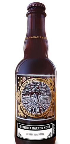 Mmmmm ... Almanac's Tequila Barrel Noir beer is going to pair well with our belly!