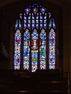 Stained Glass of the Sorrowful Mysteries