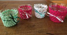 Nun ist es genug! Mehr Ikea Gläser hab ich nicht!  enough now (for today...) #crochet #crocheting #crochetersofinstagram #diy #häkeln #häkelliebe #häkelnisttoll by nuts_about_diy