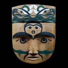 "Kwii-cu-iik-nas • ""The Whole of Nature"" Mask by Tim Paul, Nuu-chah-nulth (Hesquiaht) artist (W131002)"