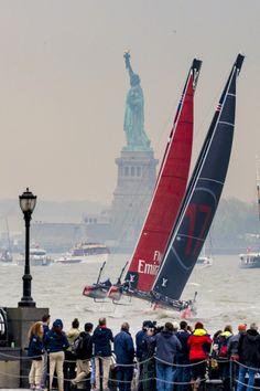 ФОТО: Кубок Америки World Series Нью-Йорк >> сплетня Парусная Новости