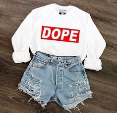 Dope :3 I love this outfit no jk. <3 Would you wear this? | Spring fashion ideas | Summer fashion ideas | Tumblr girl | Follow for more | Followback | Love | Weird and proud | vintage | bold | beautiful | cute | casual