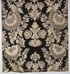 Piece  Date:     ca. 1725–30 Culture:     French Medium:     Silk