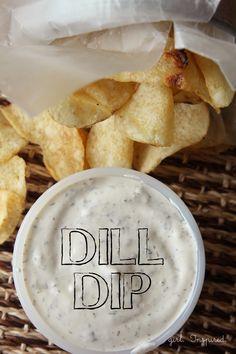 Family Favorite Dill Dip Recipe - girl. Inspired.