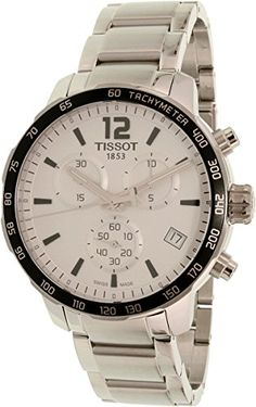 Tissot Mens TSport T0954171103700 Silver StainlessSteel Swiss Quartz Watch *** To view further for this item, visit the image link.