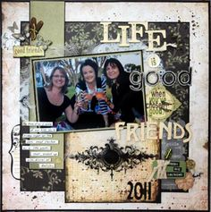 friends layout