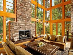 What a view! #fireplaces #view #interiordesign