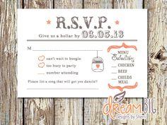 Rustic Wedding R.S.V.P. - Printable by DreamBigDesignsLLC on Etsy https://www.etsy.com/listing/237965558/rustic-wedding-rsvp-printable