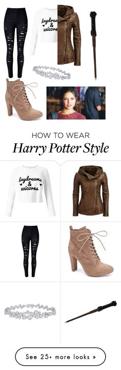 """""""#Lorelai"""" by allisonsalvatore392 on Polyvore featuring WithChic, Wild Diva, Miss Selfridge and Harry Winston"""