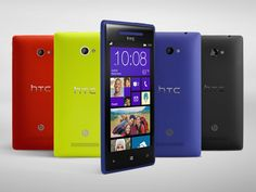 HTC Unwraps Two Stunning New Windows Phone 8X and 8S, Takes On Nokia Lumia