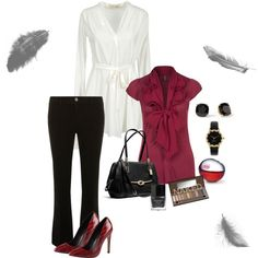 """""""Fall Business Casual attire"""" by maria-litten on Polyvore"""