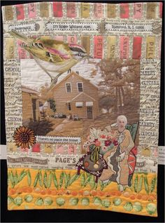 """Home"" by Jan Soules, 2012 River City Quilters Guild. Photo by Quilt Inspiration"
