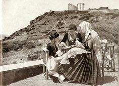 Σουνιο 1930.... !!!!!!!!!!!!!!!!!!! Vintage Pictures, Old Pictures, Old Photos, What A Country, Greece Pictures, Greece Photography, Greek History, Athens Greece, World Of Color