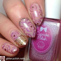 "So pretty- from @glitter.polish.nails -Rose & gold lace design using products from the March 2017 @naildramabox a $10/ monthly subscription that delivers themed nail art items to your door every month! They usually sell out quickly, so Sign up for the March box NOW at @naildramabox!  @essiepolish ""Vanity Fairest""  @cupcakepolish ""Trampled By a Shopping cart"" & ""Chicago"" @naildramabox Rose Stencils & Gold Lace Stickers  @twinkled_t Loose holo glitter ⭐️Topped with @pop_polish_ Liquid Glass"