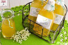 Syrop z kwiatów czarnego bzu Healthy Food, Healthy Recipes, Drinks, Bottle, Blog, Healthy Foods, Drinking, Beverages, Flask