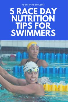 5 Race Day nutrition tips for swimmers - Diet and Nutrition Nutrition Education, Sport Nutrition, Nutrition Month, Nutrition Quotes, Holistic Nutrition, Proper Nutrition, Nutrition Plans, Nutrition Tips, Healthy Nutrition