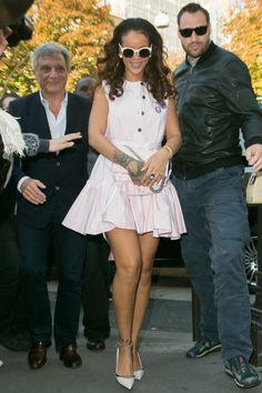 Rihanna já desfila por ai com seu lindissimo Dior Sideral! #aprovado #amamos #dior #diorsideral #sideral #oticaswanny