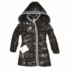 France Moncler Hooded Brown Coat Moncler Kids Hot Sales Giacche Autunnali 2d98a515bd8