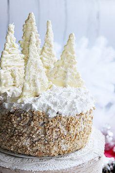 Illéskrisz Konyhája: ~ OROSZKRÉM TORTA ~ Krispie Treats, Rice Krispies, Cake Cookies, Sweet Recipes, Christmas, Advent, Food, Cakes, Xmas