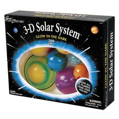Kids Solar System Glow The Dark Planets learn About Universe Room Astronomy Space Party, Space Theme, Sistema Solar, Solar System Kit, Dark Planet, Glow Stars, Thing 1, Bedroom Themes, Bedroom Ideas