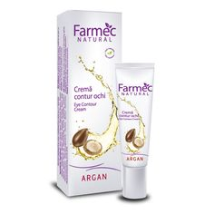 Crema contur ochi cu Argan -gama Farmec Natural  Gama Farmec Natural  http://www.farmec.ro/produse/criterii-253-farmec-natural/1.html