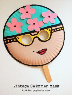 Paper plate mask for kids | 20 PAPER PLATE CRAFTS FOR KIDS | OHMY-CREATIVE.COM | kids crafts | paper plates | preschool crafts | kindergarten crafts | school kids crafts | Under the sea crafts | paper plate animal crafts | rainbow craft | olympics craft | watermelon craft | monster craft | paper craft