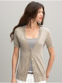 August Silk Short Sleeve Cardigan August Silk. $24.99 | Clothing ...