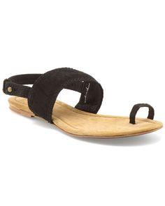 Joie 'Feeling Good' Leather Toe Thong Sandal