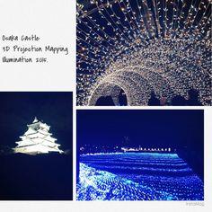 大阪城イルミネーション2015