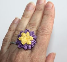 (4) Name: 'Crocheting : Lucy Ring