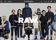 G-Star RAW | CSS Website - - Site of the Day September 24 2016