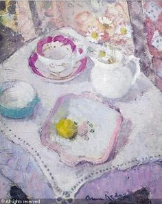 View artworks for sale by Redpath, Anne Anne Redpath Scottish). Still Life Art, Flower Art, Cool Art, Illustration Art, Fine Art, Things To Sell, April 14, Flower Paintings, Sensitivity