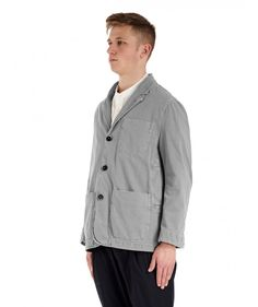 Coat Casoni Malamocco Grey -   Spring-Summer 16 on wwww.barenavenezia.com