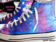 Love space, converse and DIY's? well this out of sight can make your go far out .