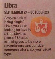 libra, sick of being single?