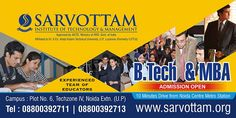 Admission Open For B-tech & MBA You Can Apply Online Here :- http://bit.ly/1Y9ThQy #Details_of_Fee_Structure :- http://bit.ly/1rsNhrK