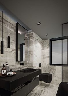 Bathroom Design Luxury, Modern Bathroom Decor, Chic Bathrooms, Dream Bathrooms, Contemporary Bathrooms, Modern Bathroom Design, Beautiful Bathrooms, Small Bathroom, Toilet And Bathroom Design
