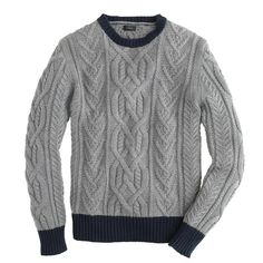 This crewneck sweater is knit in premium cotton yarns, giving it a nice weight that isn't as warm as the wool versions in your sweater drawer. Cotton. Machine wash. Import. Select stores.