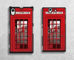 telephone boothsony casered doorSony xperia Z by janicejing, $9.99