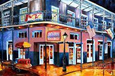 New Orleans Krazy Korner Painting